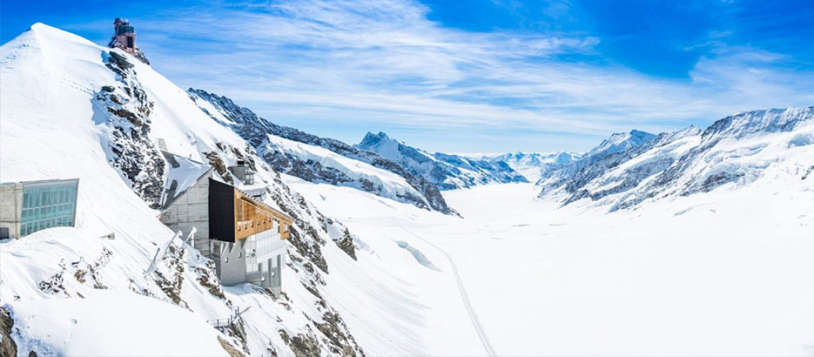 Viewpoint at Jungfraujoch, Switzerland