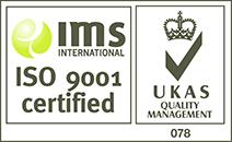 UKAS ISO 9001 Certified